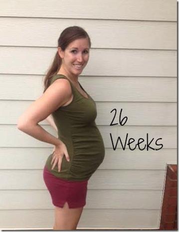26weeks bump