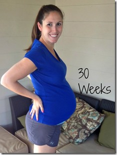 30weeks bump
