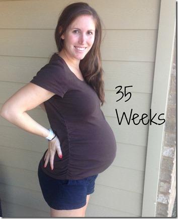 35weeks bump