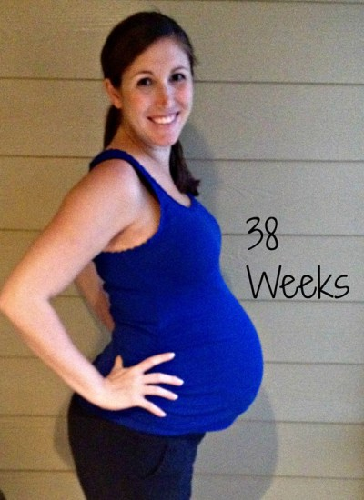 Pregnancy Update: Week 38
