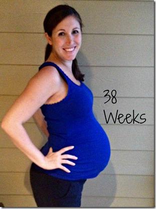 38weeks bump3