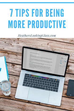 7 tips for being more productive