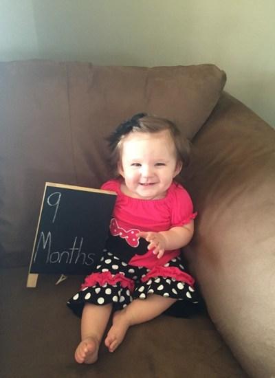 Emma Kate: Month 9