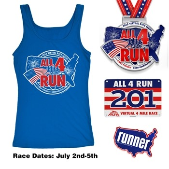 4th of July Plans + Virtual Race