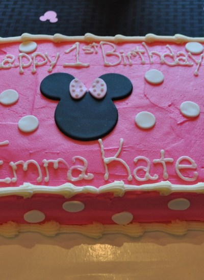 Minnie Mouse Birthday Party Details