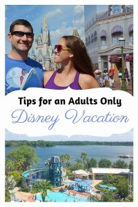 Tips for an adults only Disney trip