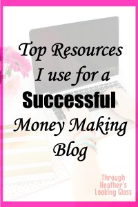 Top resources I use for a successful money making blog. Click now to see the best tips and tools to help you make money blogging while you work from home.