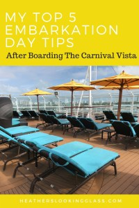 5 things to do after you Board the Carnival Vista