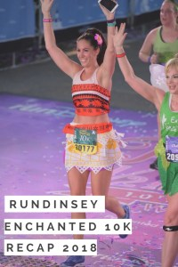 runDisney Enchanted 10k Race Recap 2018. My race at Walt Disney World through EPCOT and the Boardwalk as part of the Princess half marathon weekend.