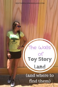 The Walls of Toy Story Land at Disney's Hollywood Studios and where to find them. #disney #toystoryland #disneywalls