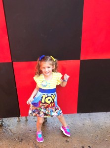 Toy Story Land with a Preschooler