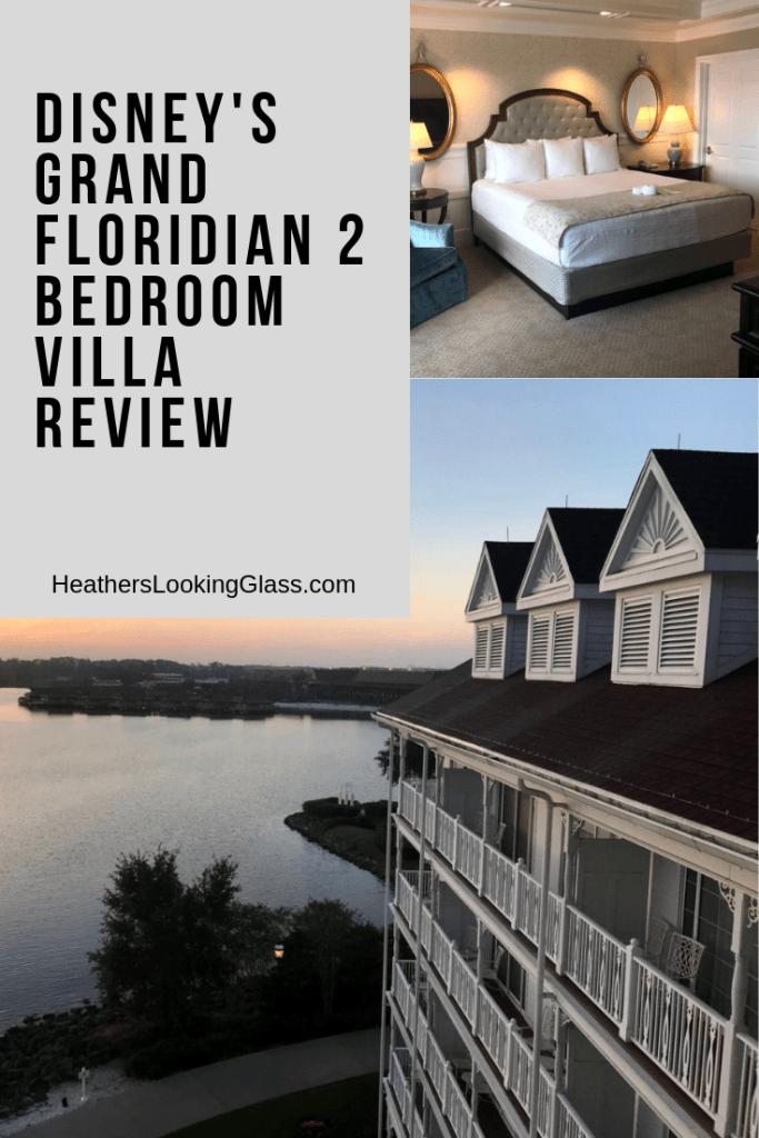 Disney S Grand Floridian 2 Bedroom Villa Through Heather S Looking Glass
