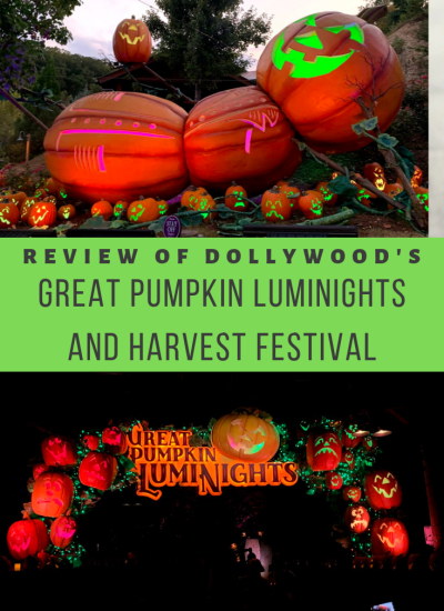 Dollywood's Harvest Festival & Great Pumpkin Luminights