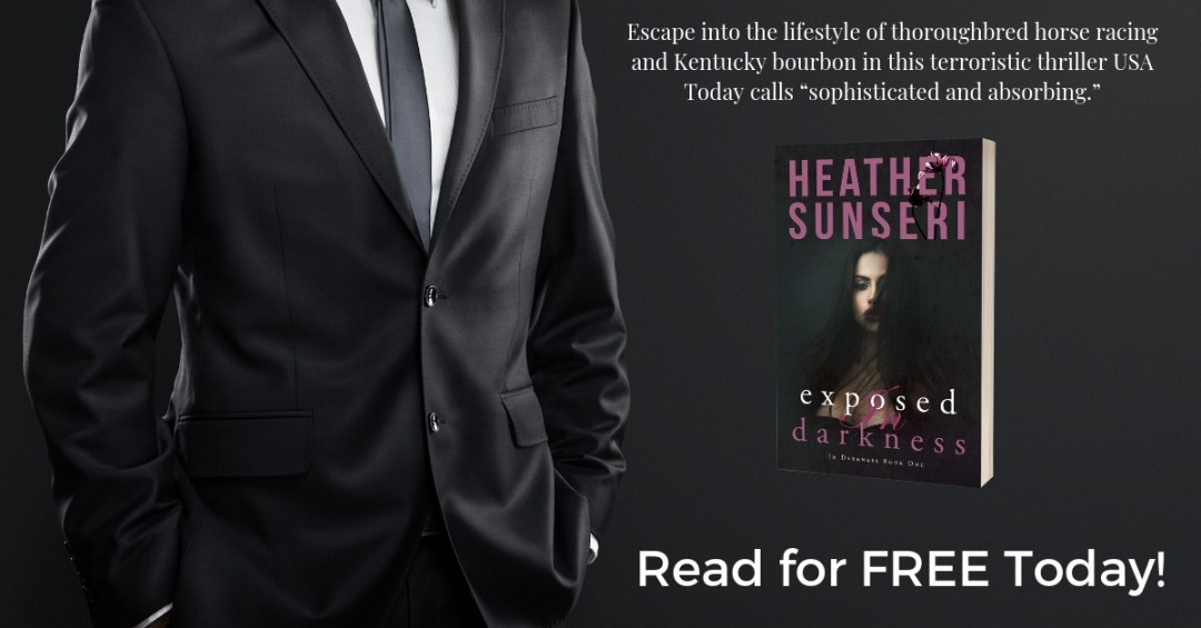 Exposed in Darkness is free to email subscribers. Romantic Thriller by heather sunseri