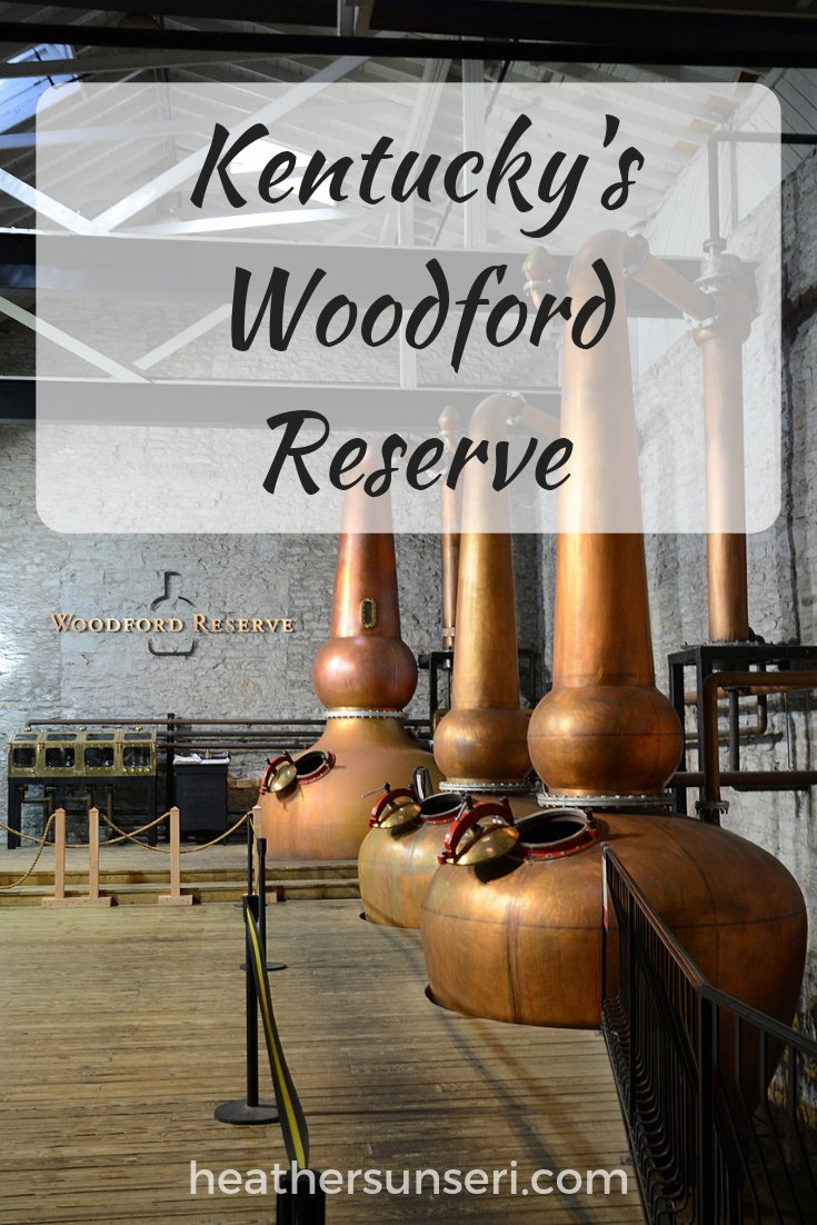Kentucky's Woodford Reserve Bourbon Distillery in Woodford County Kentucky
