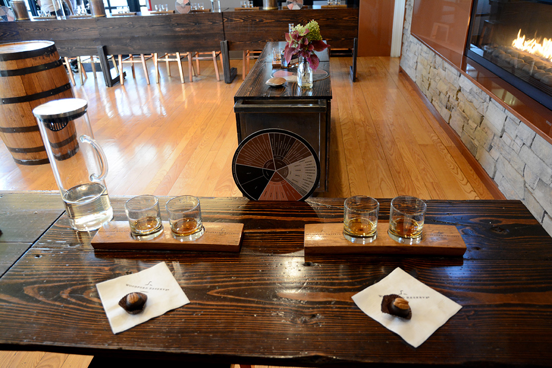 At the end of the tour you get a tasting of fine bourbon and a decadent Rebecca Ruth's bourbon ball.
