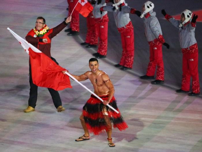 Tonga 2021 Japan Olympics Pyeonchang South Korea