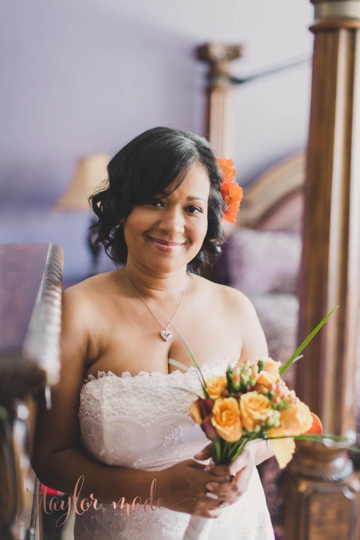 Bride of Sweetheart Las Vegas Wedding