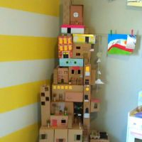 Home Style: DIY Box House For Kids