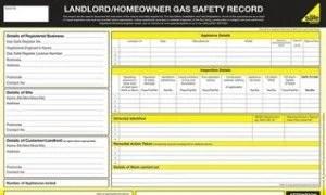 Landlords Gas Safety Certificate from Heathlands Heating Ltd