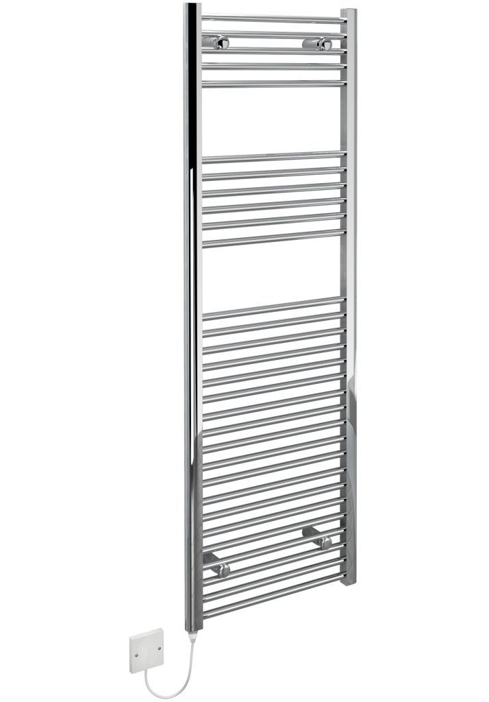 Kudox Electric Towel Rail Chrome 400W (500 x 1500mm