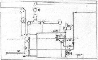 Hot Water Boiler With Buffer Tank Piping Diagram Hot Water