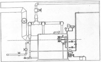 Steam Boiler: Steam Boiler Piping Diagram