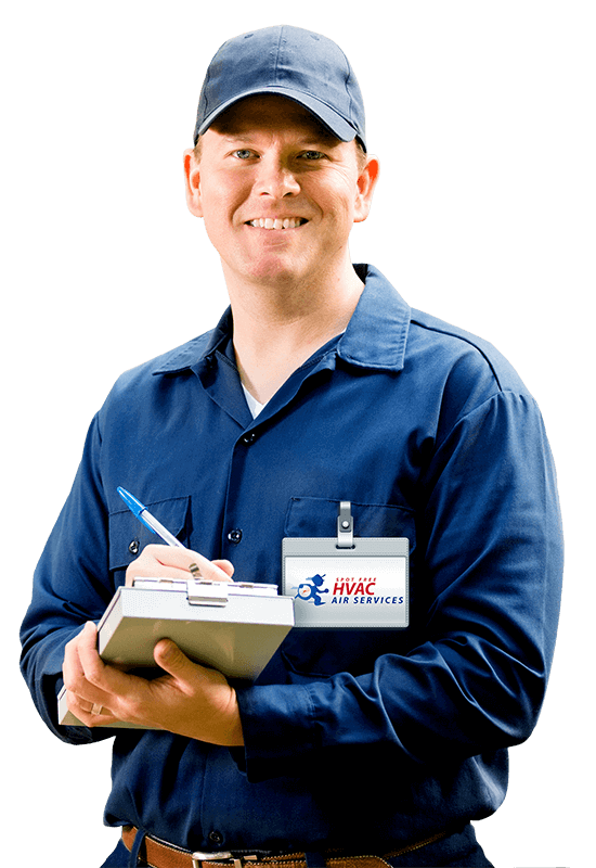 hvac spot free services employee