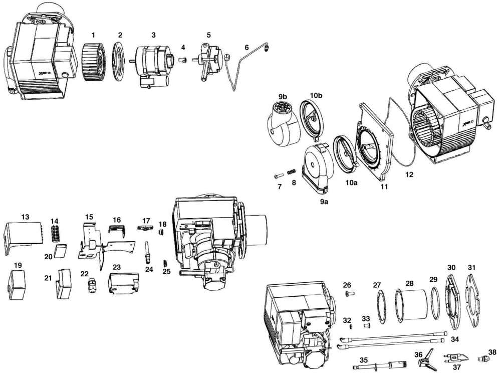 medium resolution of eogb x400 oil burner parts heating parts warehouse