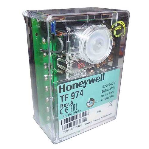 small resolution of honeywell satronic tf 974 control box side view photo