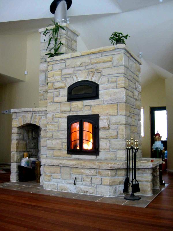 Masonry Stove Builders  HeatKit Masonry Heater by William