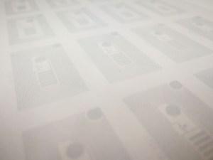 透明電極の印刷