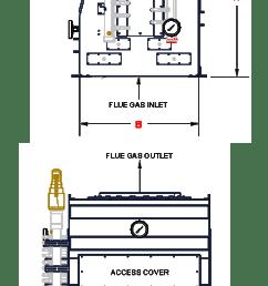 heat recovery exchange boiler economizer heatmizer arrow pipe diagram stack economizer piping diagram [ 1368 x 2838 Pixel ]