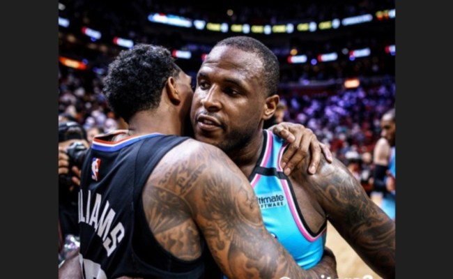Lou Williams Shows Love To Dion Waiters After Epic Return