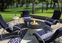 Aluminum Chat Hot Tubs Fireplaces Patio Furniture