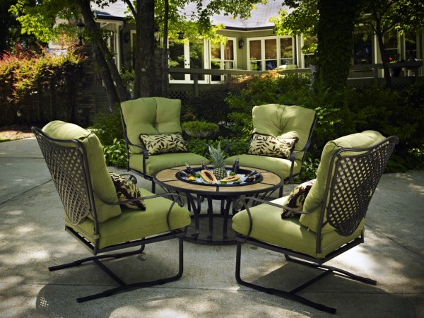 wrought iron patio furniture Wrought Iron Chat | Hot Tubs, Fireplaces, Patio Furniture