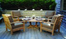 teak wood patio sets deep