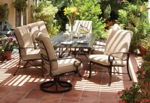 Aluminum Patio Dining Set Outdoor Furniture