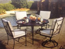 Wrought Iron Dining Hot Tubs Fireplaces Patio