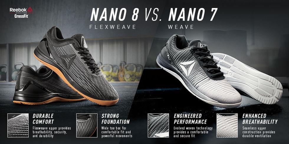 reebok nano 7 vs nano 7 weave