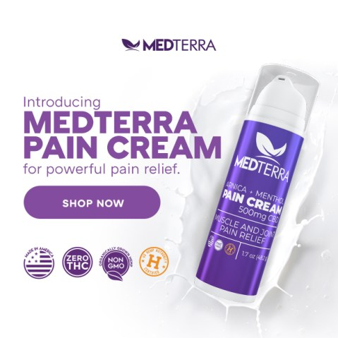Medterra CBD Pain Cream For Crossfit