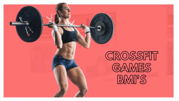 BMI of top Crossfit Athletes