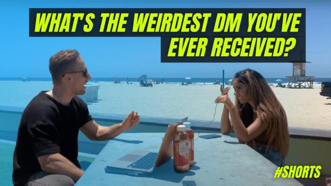 Whats the weirdest Instagram DM you ever received?