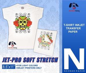 Jet-Pro Soft Stretch Inkjet Heat Transfer Paper