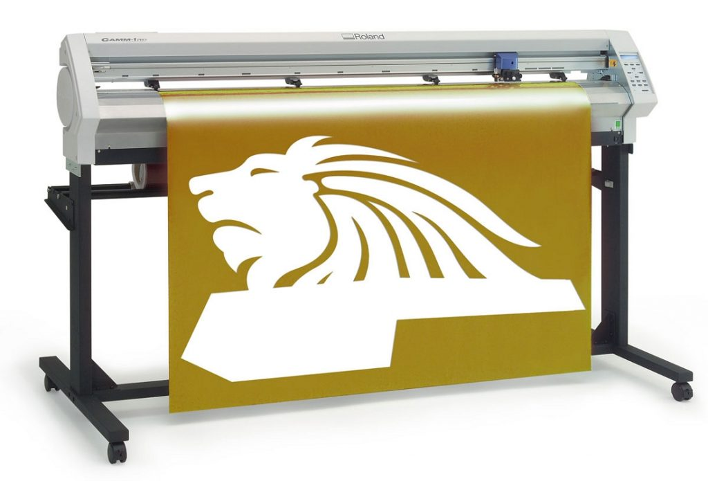 product photo of a Roland Vinyl Cutter for huge projects