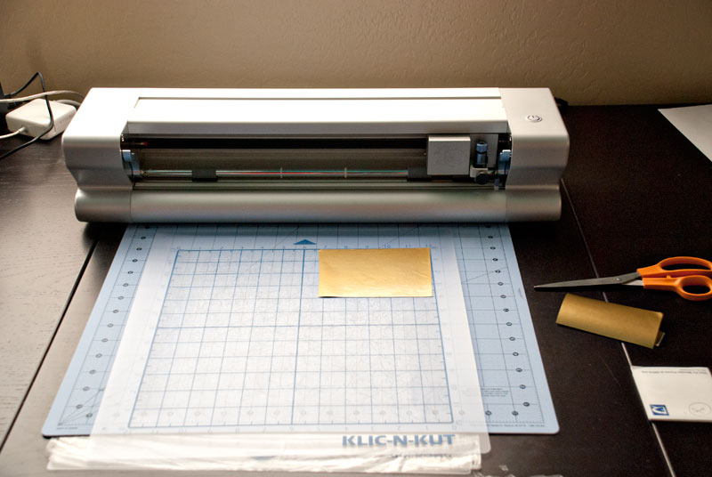 product photo of klic-n-kut die cutting machine