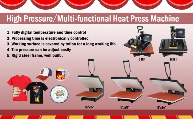 Zeny Combo Heat Press Machine