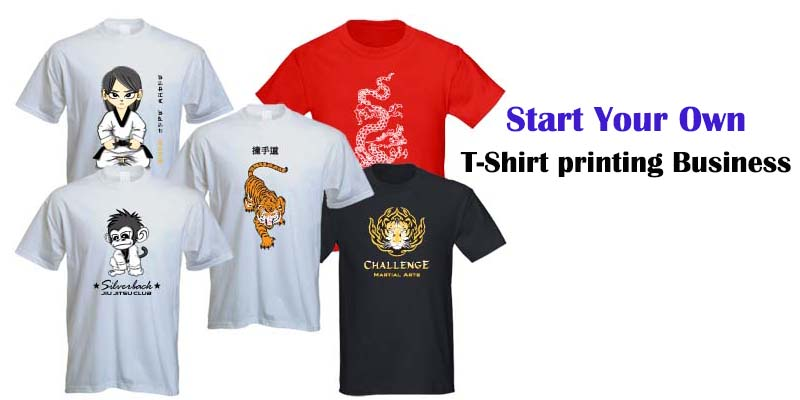 Starting a t-shirt printing business - What You Need to Know