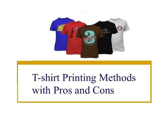 t-shirt printing methods