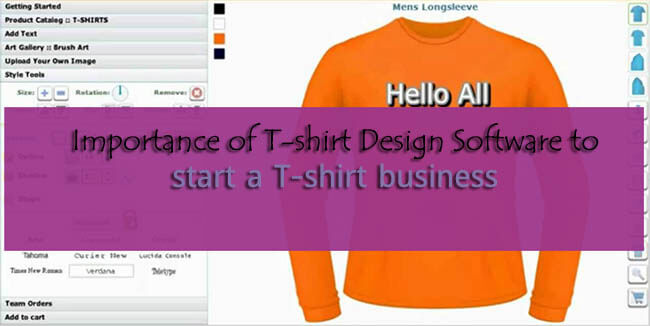 t shirt designer software